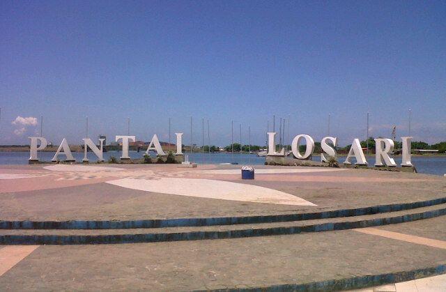 Pantai Losari, City Of Makassar di Makassar, Sulawesi Selatan