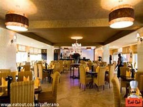 Zafferano Restaurant Nairobi Kenya Offering Fine Dining In Italian Cuisine The Experience Begins As Guests Are Welcomed And Ushered To