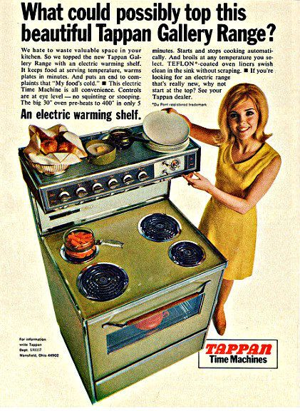 1967 Tappan Time Machine Oven Stove by ecofriendlyfreckles on Etsy, $10.00
