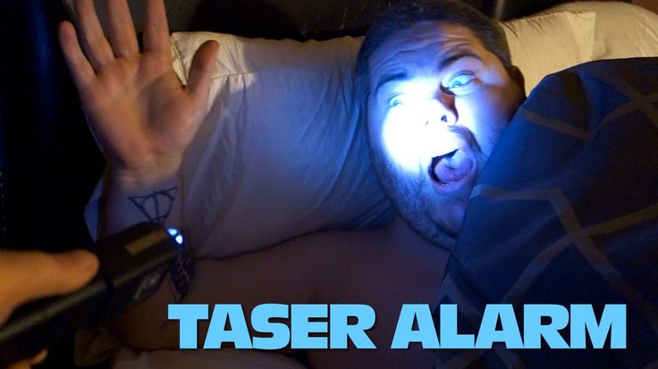 THE TASER ALARM CLOCK! The Angry Grandpa videos are just like a train wreck... you don't want to stop and look, but you just have to!