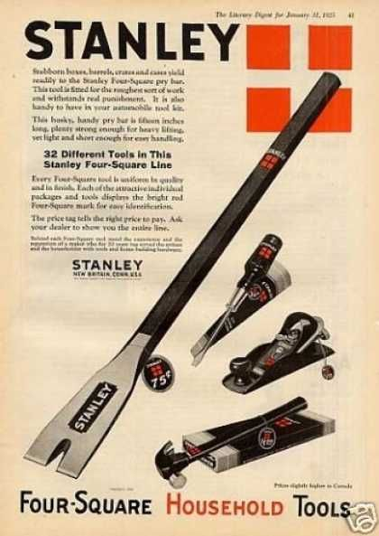 Stanley Tools Color (1925)