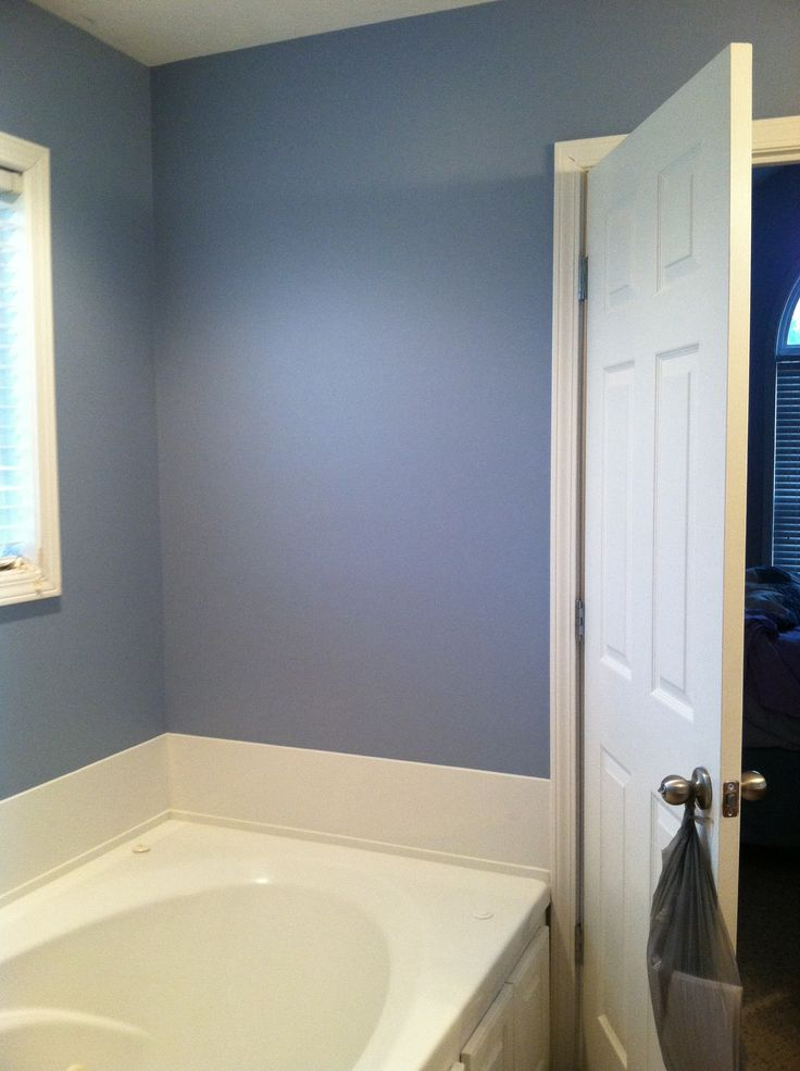 Russian Blue By Behr Baby 2 Bathroom Wall Colors