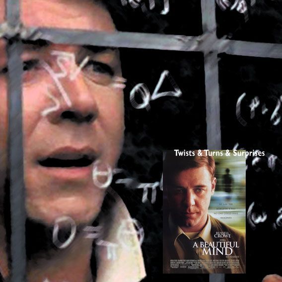 """""""Nothing's ever for sure, John. That's the only sure thing I do know. """" A Beautiful Mind (2001) Director: Ron Howard. Stars: Russell Crowe, Ed Harris, Jennifer Connelly, Christopher Plummer, Paul Bettany, Adam Goldberg, Josh Lucas, Anthony Rapp, Jason Gray-Stanford, Judd Hirsch, Austin Pendleton."""