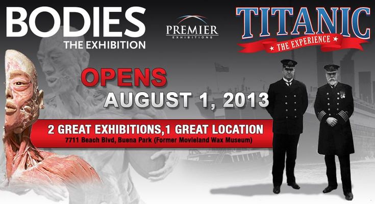 Bodies Exhibit And Titanic Experience GIVEAWAY And Grand Opening