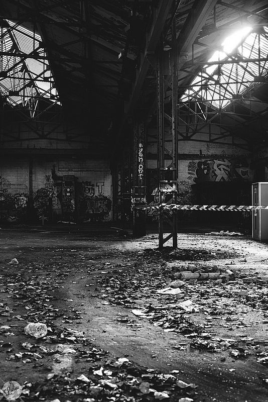 Disused warehouse #urbanphotography #streetphotography #photography #blackandwhite #flickr