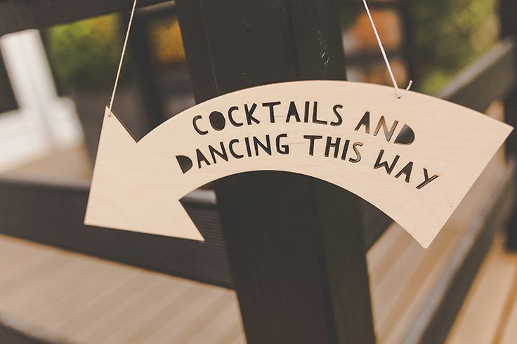 quirky wedding sign cocktails Braxted park wedding photographer www.samandlouise.co.uk