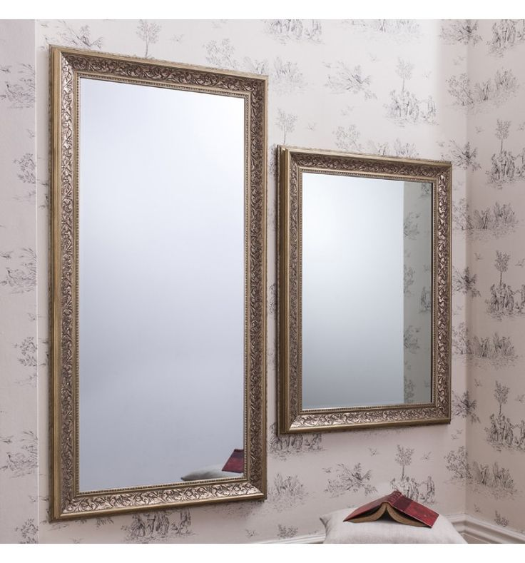 As Seen On Cowboy Builders & Bodge Jobs Donated To Help Families!    This lovely rectangle mirror with its antique silver finish is a wonderful piece that will be admired by any who enter your home. The classic frame had a traditional decoration which really stands out thanks to the antiqued finish.  Sizes:- 109