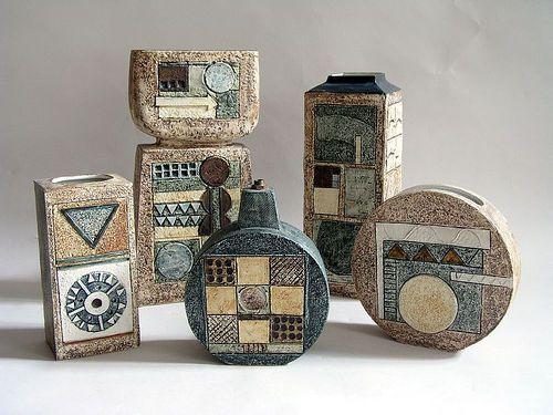Vases Troika Pottery Cornwall ღ⊰n Cornwall