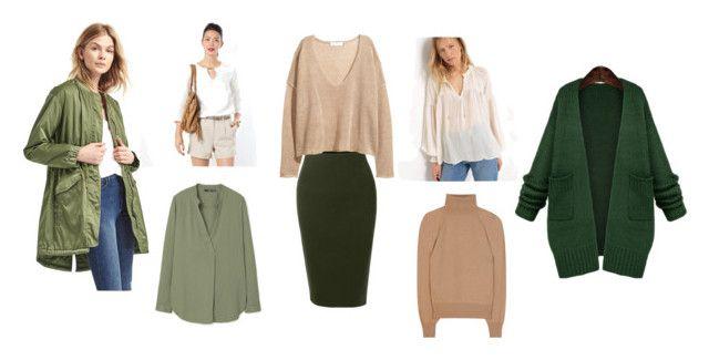 Базовая одежда для леди фриланс by elina-sedina - с юбкой-карандаш