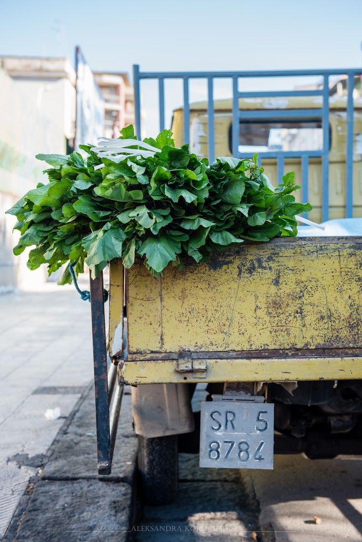 Green Vegetable Leaves, Lentini, Sicily