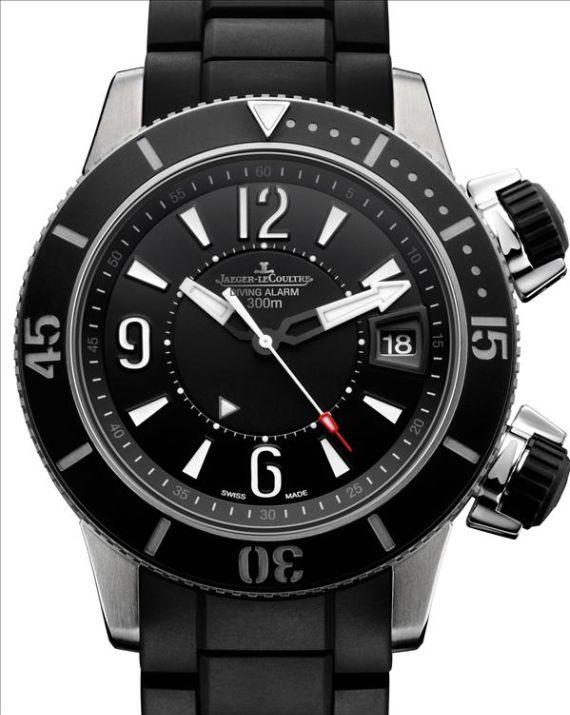 SIHH 2009 Jaeger LeCoultre Master Compressor Diving Navy SEALs Watch Collection   jaeger lecoultre
