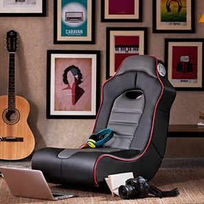 Tyler X-Rocker Chair (Black)