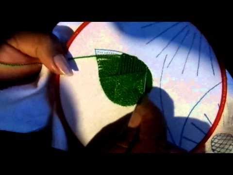 Puntada De Bordado N° 143 - El Club De Nelly - YouTube
