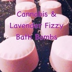 THChristi's Cannabis & Lavender Fizzy Bath Bombs