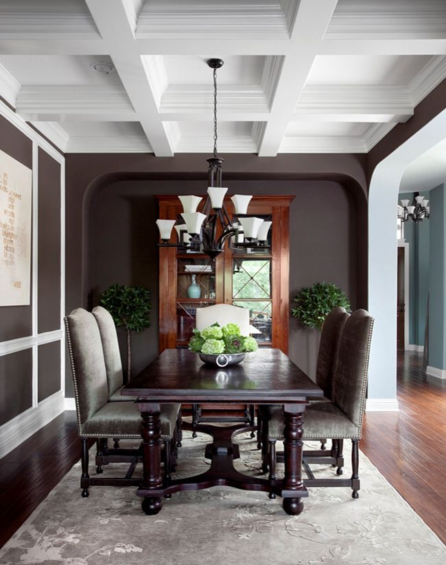 Brown Dining Room Decor best 25+ chocolate walls ideas on pinterest | brown decor, cute