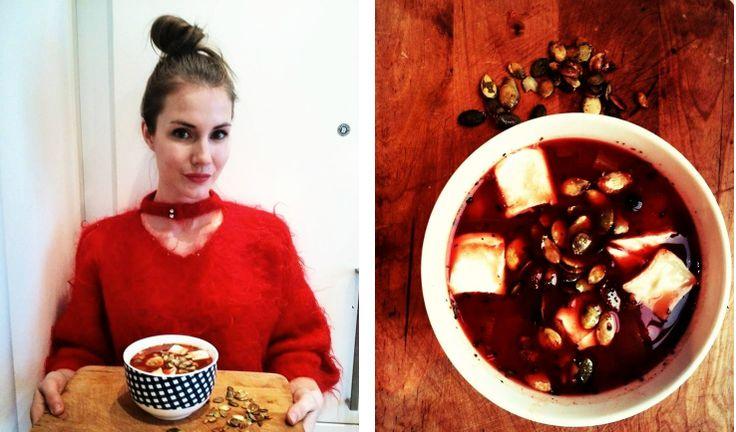 Tomato Fashion& Food Soup/ Zupa Pomidorowa Włoska  www.cookishstylish.com