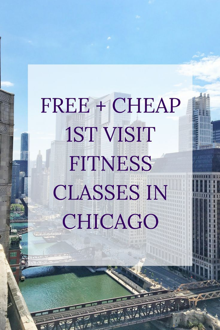Free Cheap First Visit Fitness Classes Chicago Fitness Class Chicago Fitness Yoga Locations