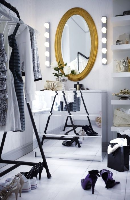 Dressing Room Lights and Mirror Ideas