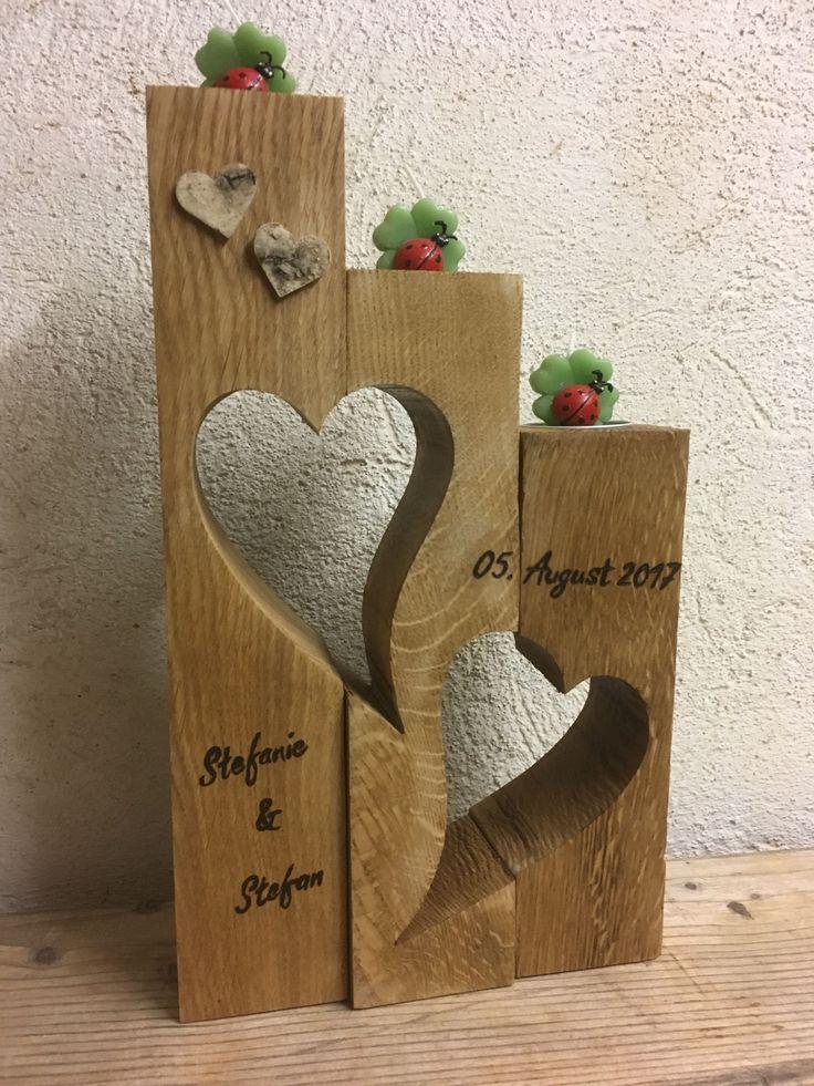 Geschenke zur Hochzeit – 9er´sche HOLZ- und SCHMU…