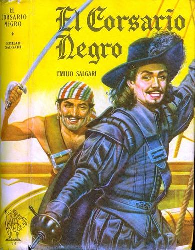 El Corsario Negro, Emilio #Salgari. #Acme