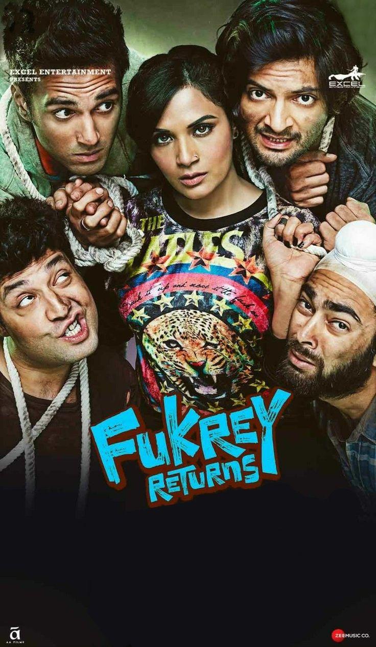 Quality Movies : FUKREY RETURNS 2017 Hdtvrip 480p 400mb