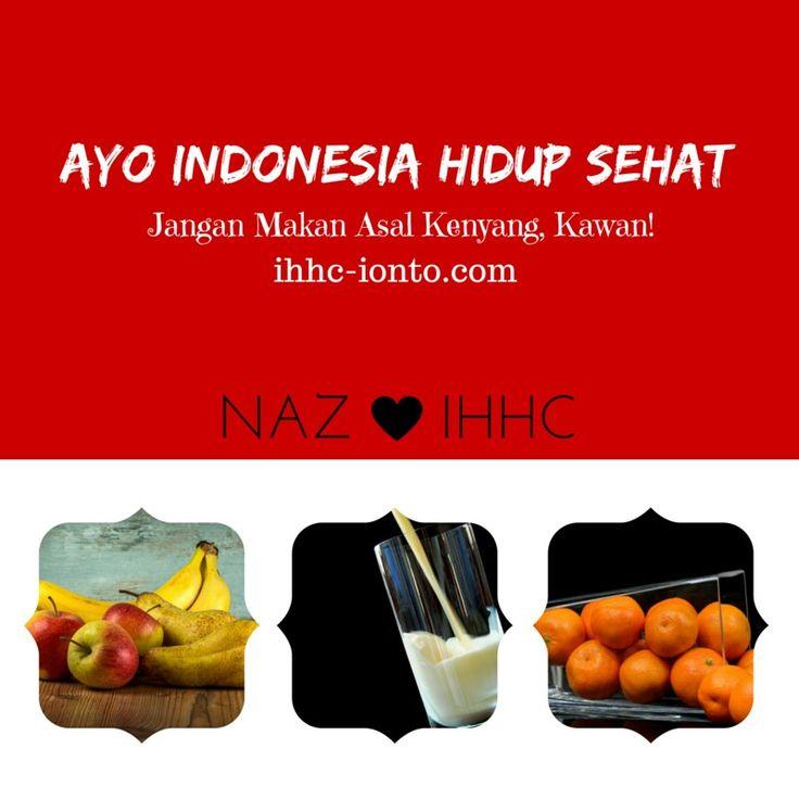 Ayo Indonesia, perbaiki pola makanmu, agar sehat dan cerdas.  KERING ITU DEKAT. Kini Kawan bisa jalani terapi Ionto dimanapun di Indonesia. Hanya Rp30ribu. Mau?  Tlp/WA 0813 1617 7052 & BBM 5251 9E61 ihhc-ionto.com