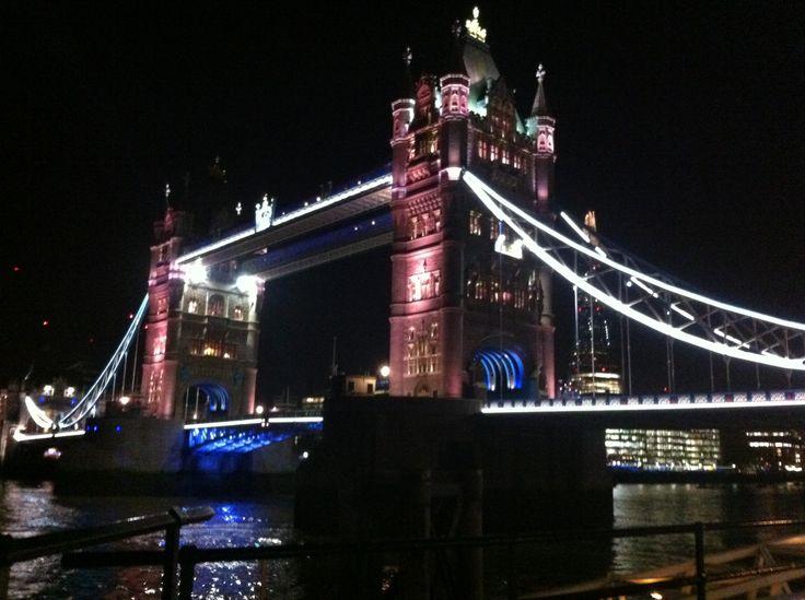 London bridge! Unfortunately photo underestimates its beauty