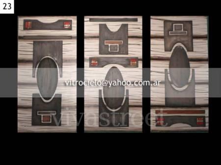 ¡Cuadros en Madera en venta en Vivavisos! http://obras-de-arte.vivavisos.com.ar/articulos-coleccion+villa-de-merlo/cuadros---tripticos-/37023857
