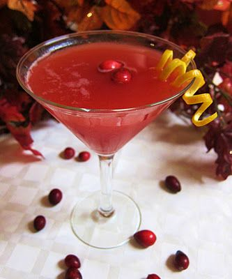 Cranberry Sauce Martini! | Food | Pinterest