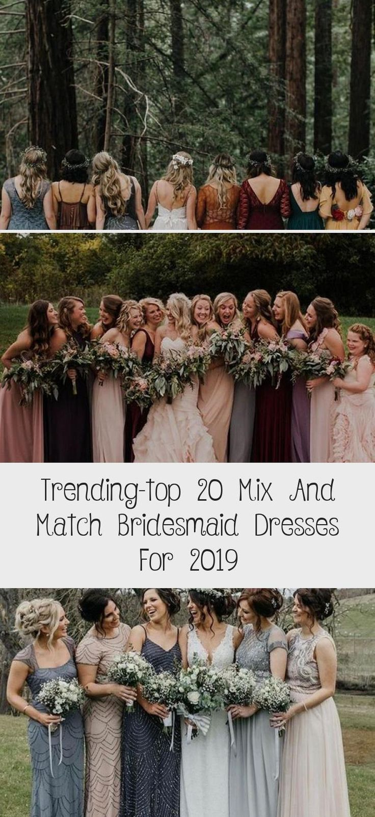 trending mix and match bridesmaid dresses for fall weddings #PeachBridesmaidDresses #BridesmaidDressesTwoPiece #AfricanBridesmaidDresses #GrayBridesmaidDresses #GreyBridesmaidDresses