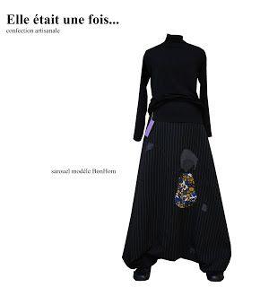 Elle était une fois... confection artisanale France: Sarouel modèle BonHom