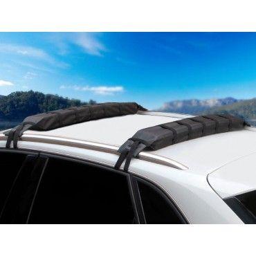 Kayak Canoe Snowboard Soft Car Roof Racks 2PCS