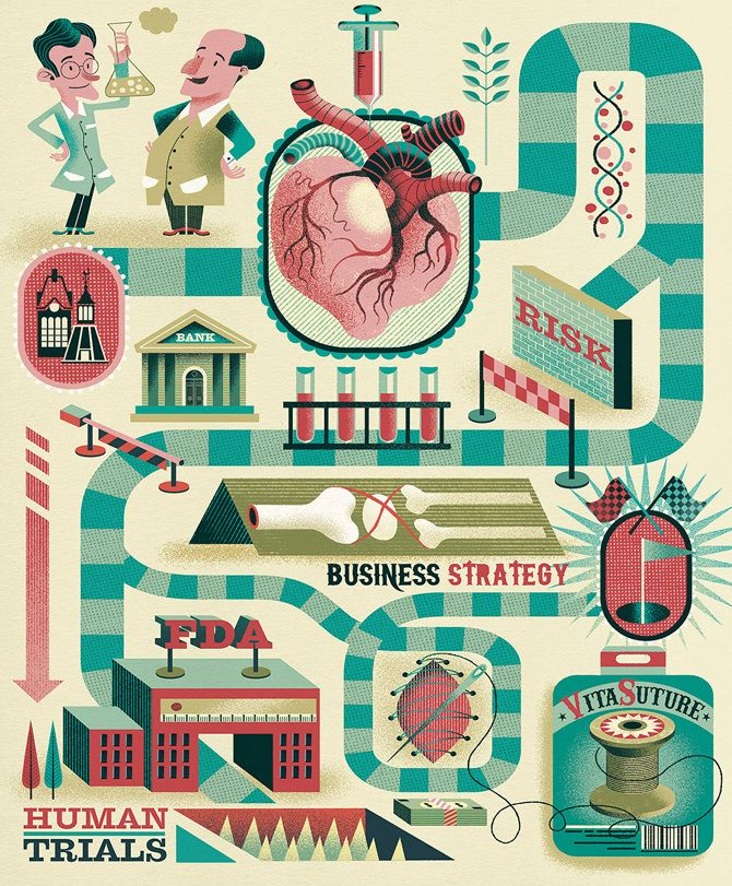Research / Worcester Polytechnic Institute - Gwen Keraval illustration