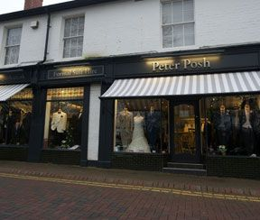 Peter Posh Suit Hire Wolverhampton Showroom for Wedding Suit Hire
