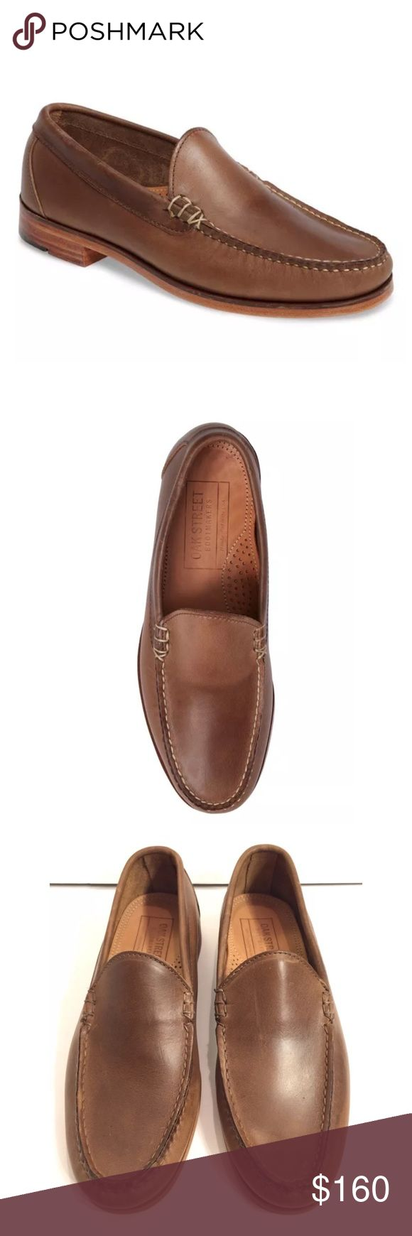 Oak Street Bootmakers Men's Shoes Natural Loafer Oak Street Bootmakers Men's Shoes Natural Loafer (Men) 10 D  Leather upper, lining and sole. By Oak Street Bootmakers; made in the USA. Men's Shoes. Rich leather construction defines a classic American-made loafer marked with meticulous stitching.  Excellent Condition, Celebrity Favorite! A must have style. Please Check All Pictures, I will be more than happy to answer any Questions. Unfortunately No Box or Dustbag. Oak Street Bootmakers Shoes…