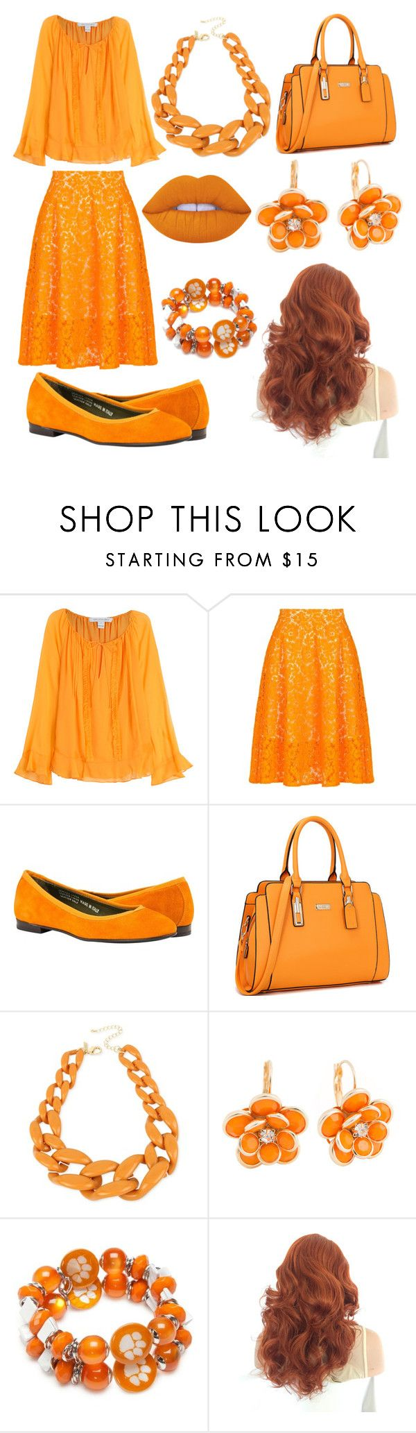 """""""16"""" by cristina-vanau on Polyvore featuring Diane Von Furstenberg, MSGM, INC International Concepts, Mixit, Accessory PLAYS and Lime Crime"""