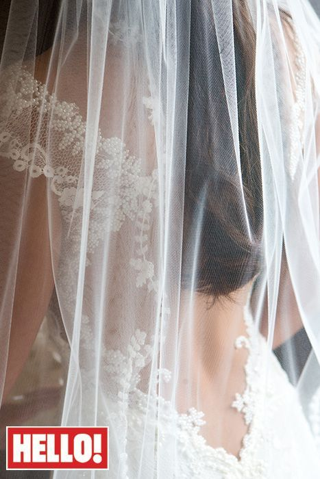 Luxury and Haute couture wedding dress wore by Michelle Keegen