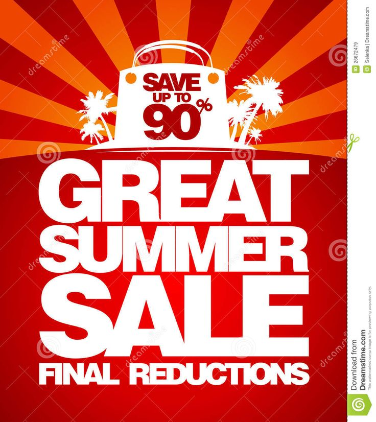 Final Summer Sale Design Template. Royalty Free Stock Images ...   Sale  Template  Car For Sale Sign Template Free