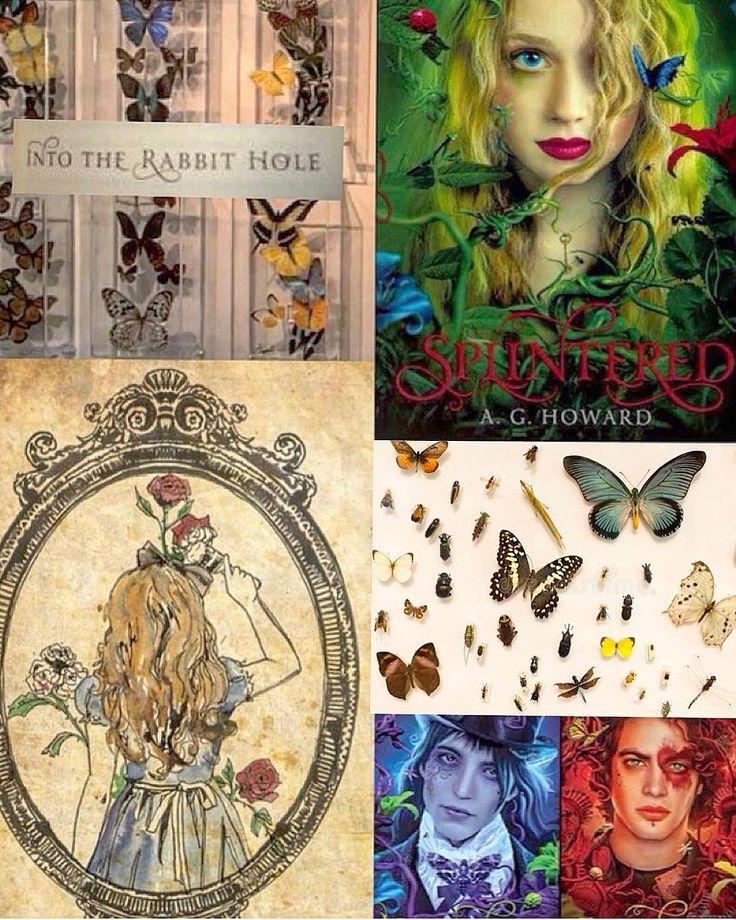 Splintered inspired collage by @thefuturemrsbatman on Instagram