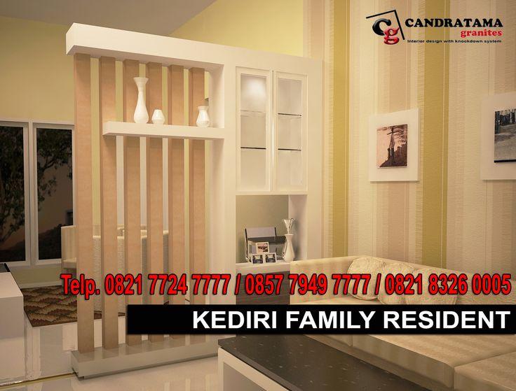 interior kediri - interior jombang -interior blitar -interior nganjuk - interior tulungagung -interior trenggalek - partisi - ruang tamu - ruang keluarga - minimalis - modern