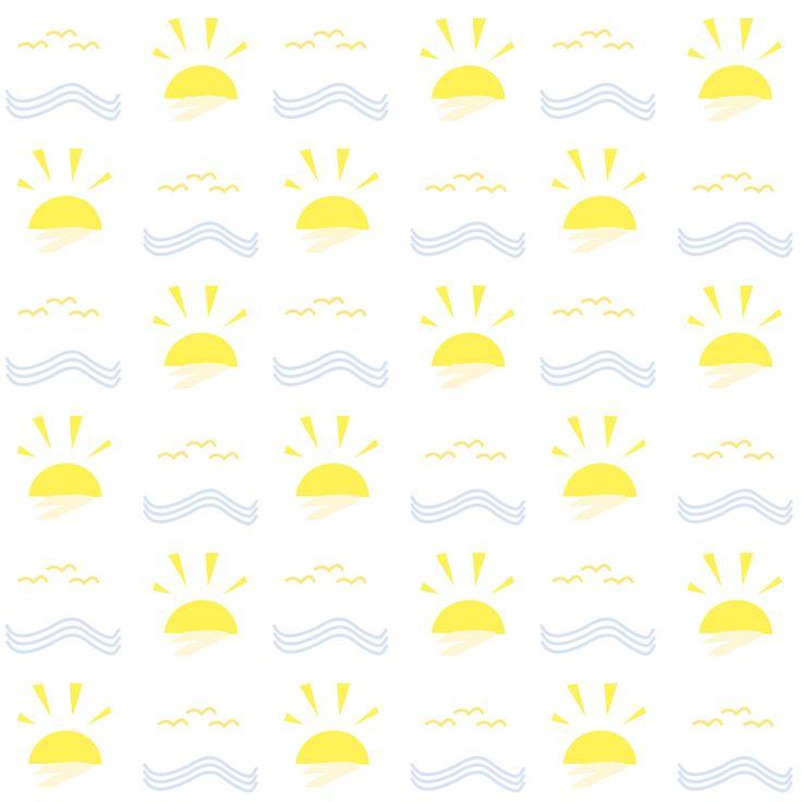 FREE printable summer pattern paper