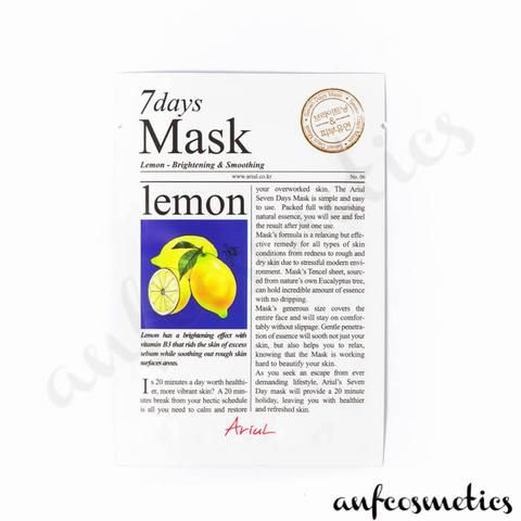 Ariul 7 days mask lemon