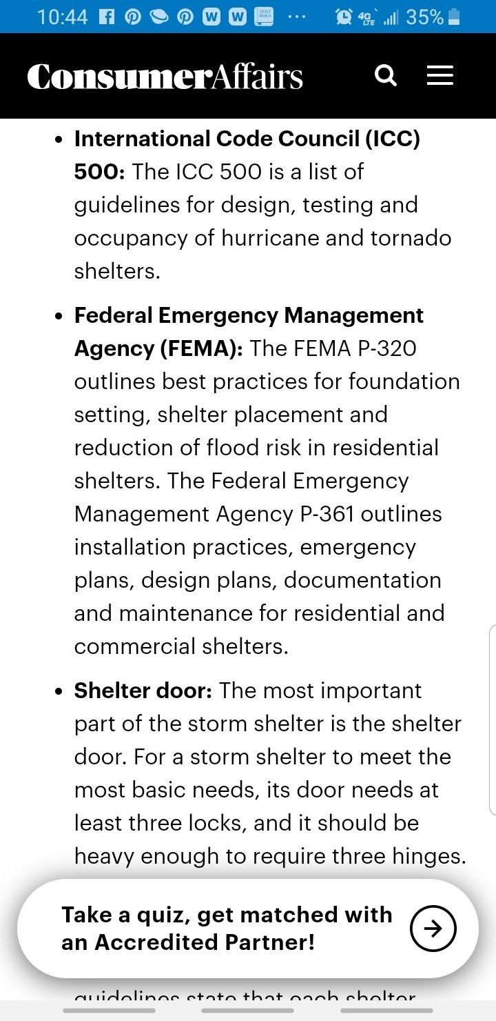 Pin On Storm Shelter