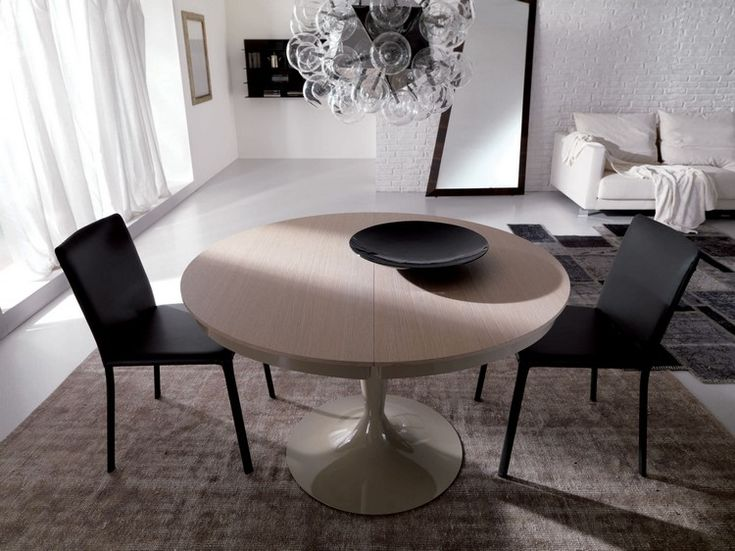 Runde Esstische Als Design Highlight: Modern Und Ausziehbar
