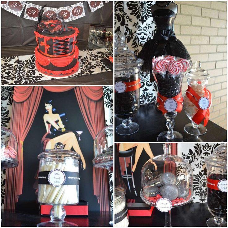 Burlesque Party Theme Food Burlesque Hen Party Brighton Burlesque Tea Party…