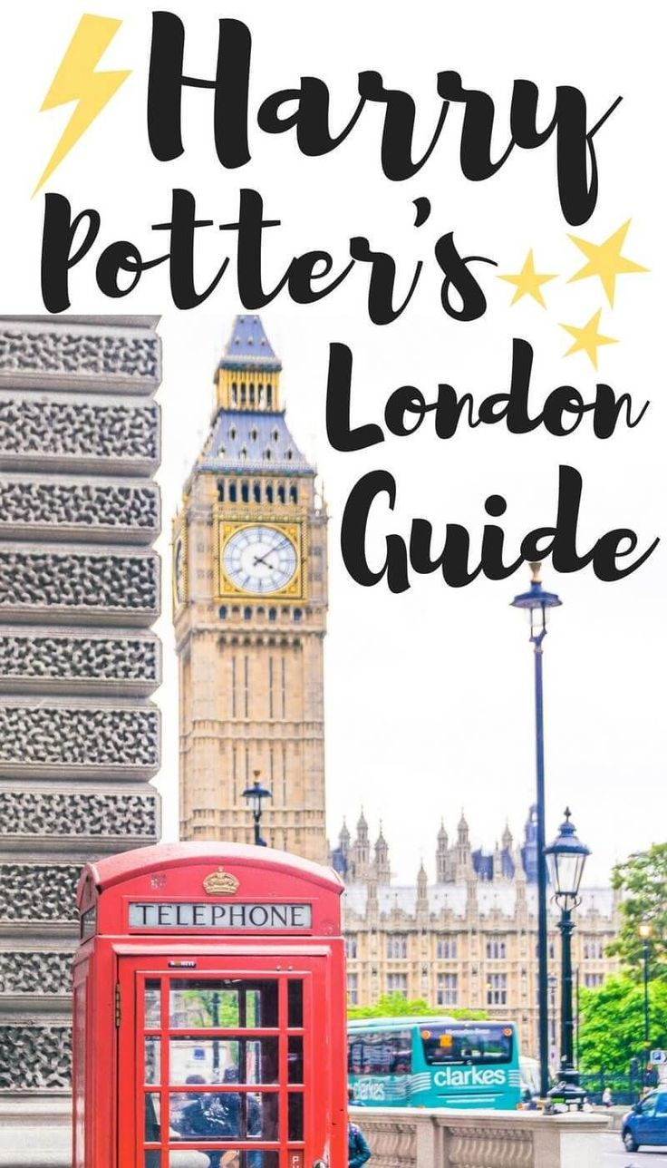 Harry Potter in London locations. A complete guide and itinerary to Harry Potter's London in England!