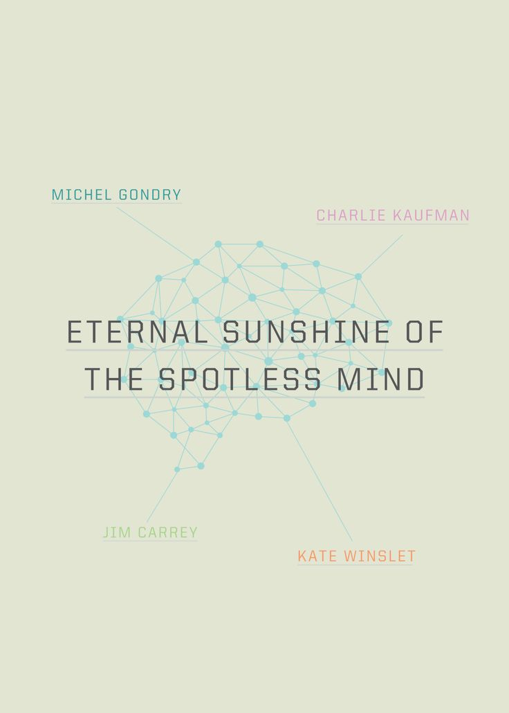 Eternal Sunshine Of The Spotless Mind | www.piclectica.com #piclectica