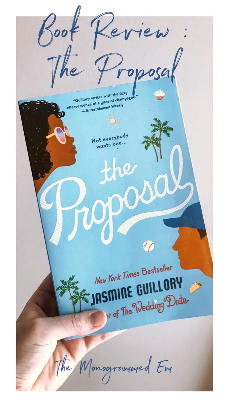 Book Review The Proposal by Jasmine Guillory in 2020