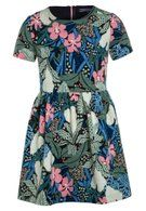 Tommy Hilfiger FLOWER PRINT DRESS - Sommarklänning - blue - Zalando.se