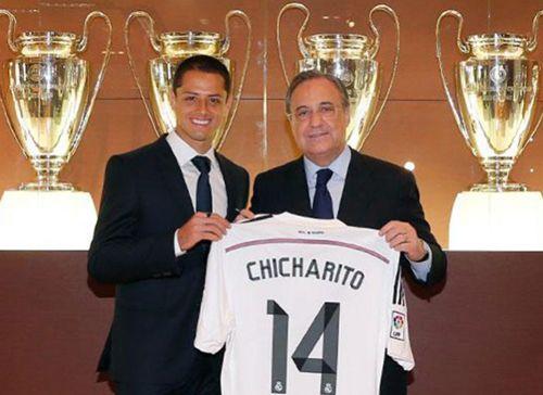 Nueva equipacion CHICHARITO Real Madrid 2014-2015